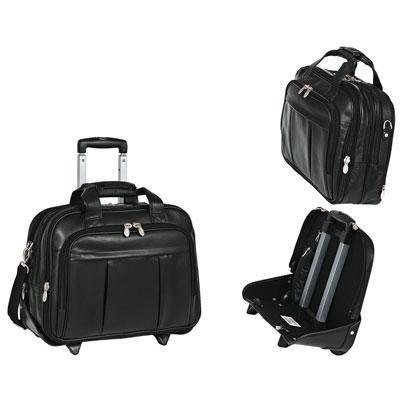 McKlein/Siamod DAMEN 17 Laptop Case Black
