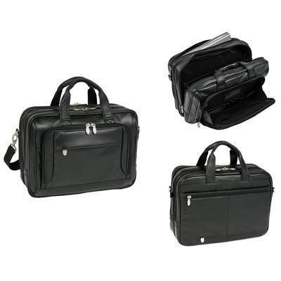 McKlein/Siamod WEST LOOP Compartment Briefcase