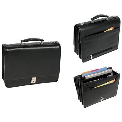 McKlein/Siamod RIVER NORTH Compartment Brfcase