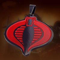 """G.I.JEO """" Cobra """"  GIJEO Titanium Necklace"""