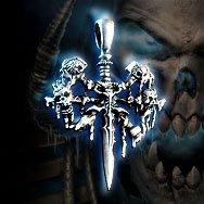 World of Warcraft Undead Platinum Necklace WOW
