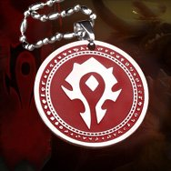 World of Warcraft Horde Titanium Necklace WOW