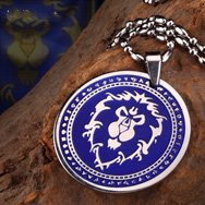 World of Warcraft Alliance Titanium Necklace WOW