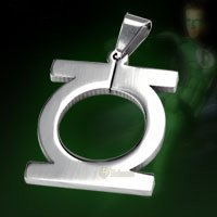 Green Lantern Titanium Necklace