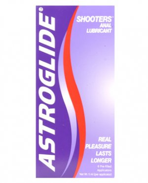ASTROGLIDE ANAL GEL SHOOTERS BOX OF 6