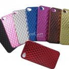 100 x Protect back cover for i Phone 4 in electro-plating diamond effect wholesales