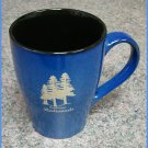 Sherwood Mug Blue with Redwoods #2337B
