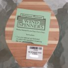 Natural Redwood Mini Wind Spinner #2399