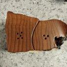 Redwood Root Salt and Pepper Shakers#1056 HWP