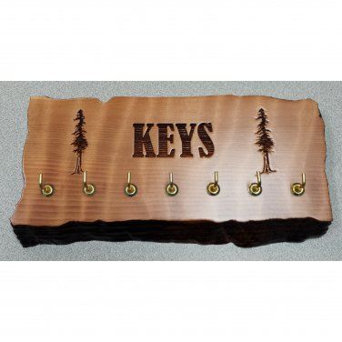 California Redwood Key Holder #3145