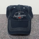 California Redwoods Tree Bear Embroidered Baseball Cap Navy Swelter #3309n PM