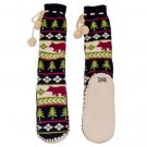Bear Fair Isle MukLuk Slippers #840652704557 LO