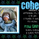 Stars-Boy Birth Announcements