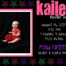 Stars-Girl Birth Announcements