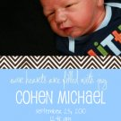 Tangy-Boy Birth Announcements