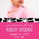 Tangy-Girl Birth Announcements
