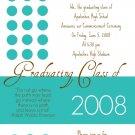 Dots-Graduation Invitations