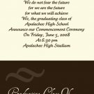 Fancy-Graduation Invitations