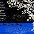 Floral-Graduation Invitations