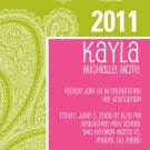 Girly-Graduation Invitation