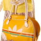 vintage inspired 1970s mini gym bowling bag models off duty style fashion clothing