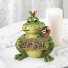 *(FREE SHIPPING)* LOVE YOU FROG PRINCE FIGURINE