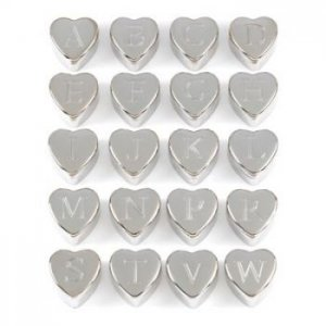 ~FREE SHIPPING~MONOGRAM HEART KEEPSAKE BOXES