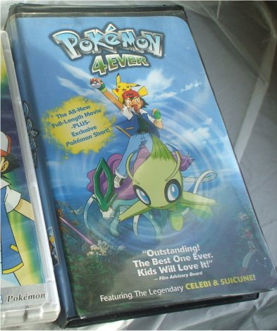 Pokemon Video 4EVER w/Celebi