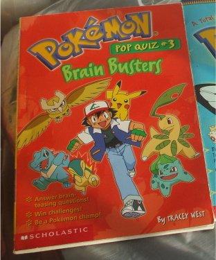 Pokemon Brain Buster Book