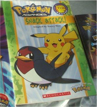 Pokemon Snack Attack Book