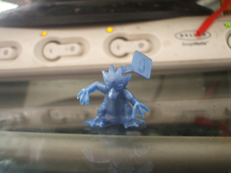 Small Blue Golduck Figure