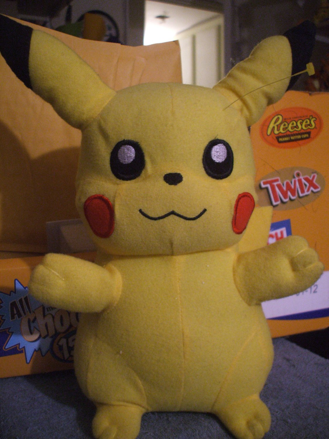 Claw Machine Plush Toys : Pokemon claw machine pikachu plush