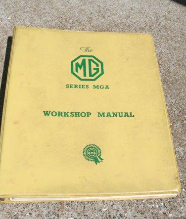Original MGA Workshop Manual MGA 1500 1600