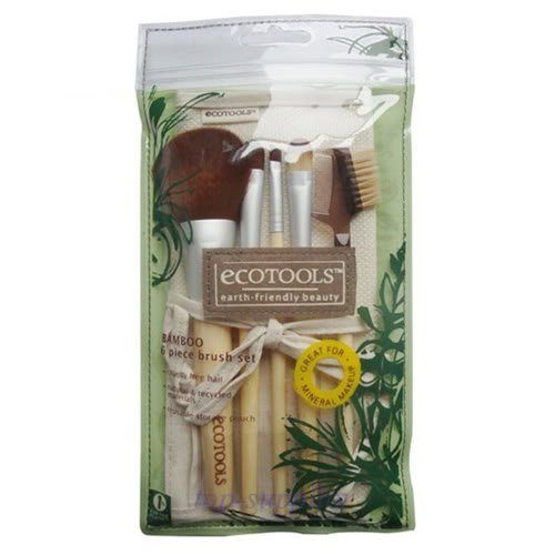 Eco Tools Makeup brush set 5 pc