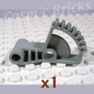 LEGO Light Gray Technic Arm 2x5 1/4 Gear 8 Tooth Double Bevel 41667 (single,N)