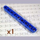 LEGO Blue Technic Liftarm 1x9 Thick 4239749 40490 (single,N)