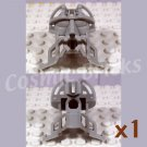 LEGO Light Gray Bionicle Head Connector Block Tohunga 4195040 (single,N)