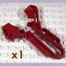 LEGO Dark Red Bionicle Kanoka Disk Launcher Matoran (single,N)