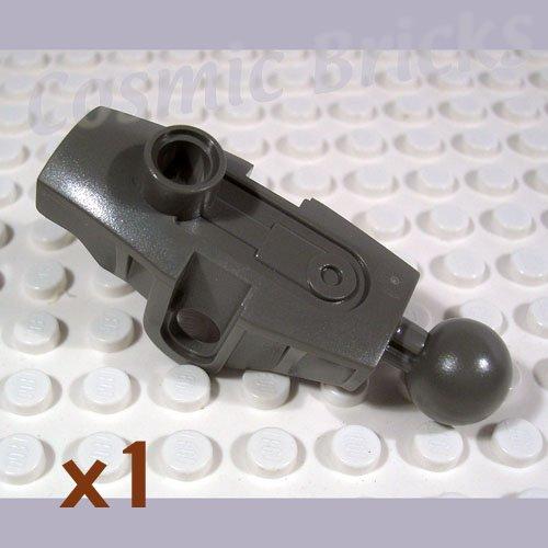 LEGO Dark Gray Bionicle Rahkshi Leg Upper Section 4289738 44148 (single,N)