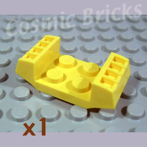 LEGO Yellow Plate Modified 2x2 with Grills 4163525 41862 (single,N)