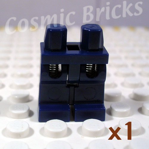 LEGO Dark Blue Hips and Legs Spring Legs (single,N)