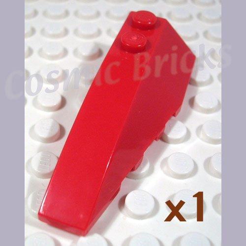 LEGO Red Wedge 6x2 Left 4286467 41748 (single,N)