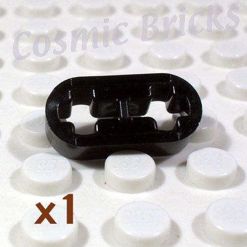 LEGO Black Technic Liftarm 1x2 Thin 41677 4164133 (single,U)