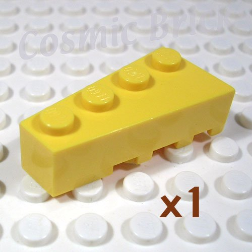 LEGO Yellow Wedge 4x2 Left 4160348 41768 (single,N)