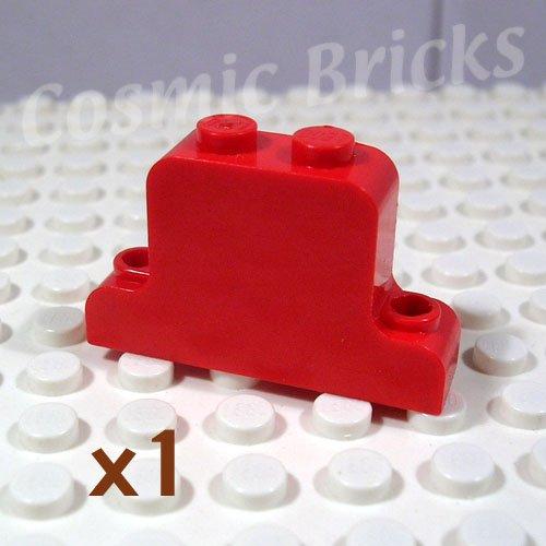 LEGO Bright Red Fabuland Brick Modified 1x4x2 Bell Shape (single,U)