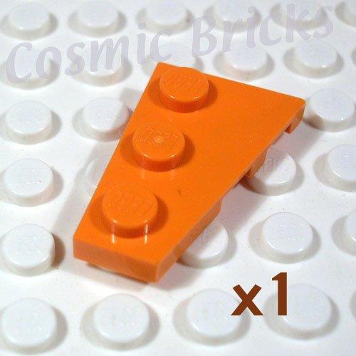 LEGO Orange Wedge Plate 3x2 Left 4180540 43723 (single,N)