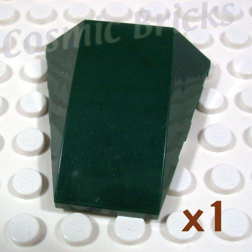 LEGO Earth Green Wedge 4x4 No Top Studs 4278009 47753 (single,N)