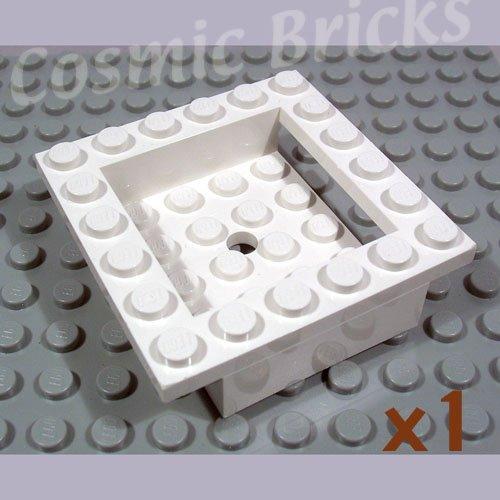 LEGO White Cockpit 6x6x1 Cabin Base 4143189 4597 (single,N)