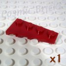 LEGO Dark Red Wedge Plate 4x2 Right 4162586 (single,N)