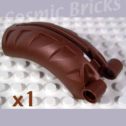LEGO Brown Bionicle Rahkshi Back Cover Groove 4215833 44140 (single,N)